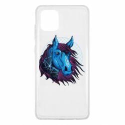 Чехол для Samsung Note 10 Lite Horse and neon color