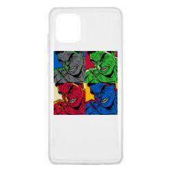 Чехол для Samsung Note 10 Lite Hulk pop art
