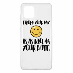 Чохол для Samsung Note 10 Lite I hope your day is as nice as your butt