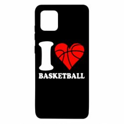 Чехол для Samsung Note 10 Lite I love basketball