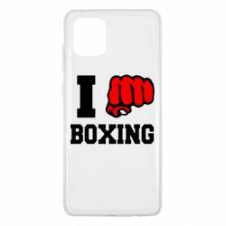 Чехол для Samsung Note 10 Lite I love boxing