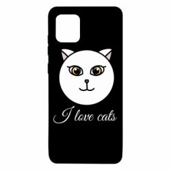 Чохол для Samsung Note 10 Lite I love cats art