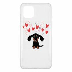 Чохол для Samsung Note 10 Lite I love dachshund