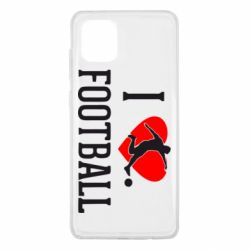 Чохол для Samsung Note 10 Lite I love football