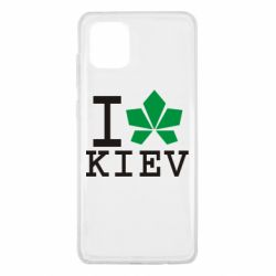 Чохол для Samsung Note 10 Lite I love Kiev - з листком
