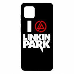 Чехол для Samsung Note 10 Lite I love Linkin Park