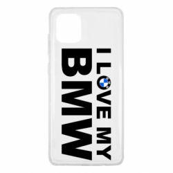 Чохол для Samsung Note 10 Lite I love my BMW