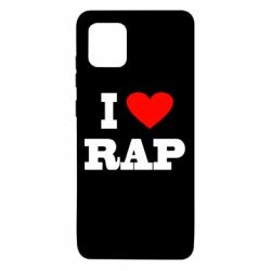 Чехол для Samsung Note 10 Lite I love rap