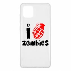 Чехол для Samsung Note 10 Lite I love zombies