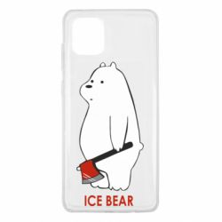 Чохол для Samsung Note 10 Lite Ice bear