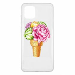 Чохол для Samsung Note 10 Lite Ice cream flowers