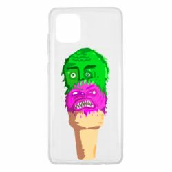 Чехол для Samsung Note 10 Lite Ice cream with face