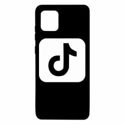 Чехол для Samsung Note 10 Lite Иконка тик ток