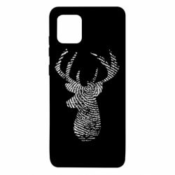 Чохол для Samsung Note 10 Lite Imprint of human skin in the form of a deer