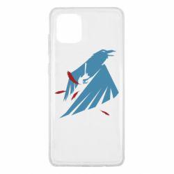 Чехол для Samsung Note 10 Lite Infamous: Second Son - Karmic titles two blue