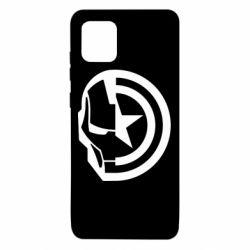 Чохол для Samsung Note 10 Lite Iron Man and Captain America