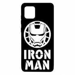 Чохол для Samsung Note 10 Lite Iron man text