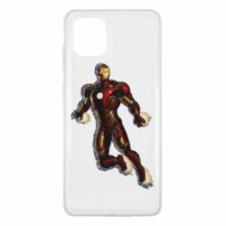 Чохол для Samsung Note 10 Lite Iron man with the shadow of the lines