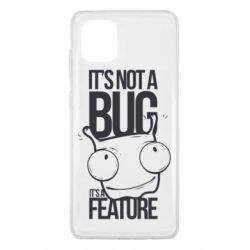 Чехол для Samsung Note 10 Lite It's not a bug it's a feature