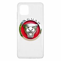 Чехол для Samsung Note 10 Lite Jaguar emblem