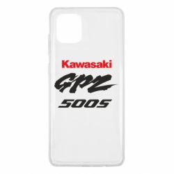 Чохол для Samsung Note 10 Lite Kawasaki GPZ500S