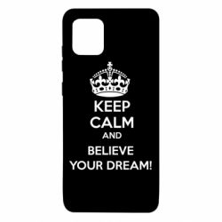 Чохол для Samsung Note 10 Lite KEEP CALM and BELIVE YOUR DREAM