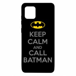 Чехол для Samsung Note 10 Lite KEEP CALM and CALL BATMAN