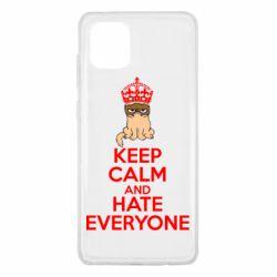 Чохол для Samsung Note 10 Lite KEEP CALM and HATE EVERYONE