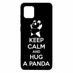 Чохол для Samsung Note 10 Lite KEEP CALM and HUG A PANDA