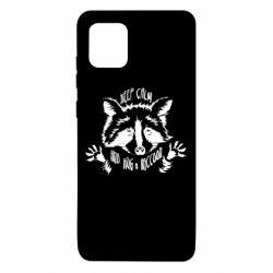 Чохол для Samsung Note 10 Lite Keep calm and hug a raccoon