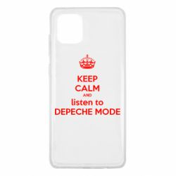 Чохол для Samsung Note 10 Lite KEEP CALM and LISTEN to DEPECHE MODE