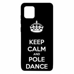 Чехол для Samsung Note 10 Lite KEEP CALM and pole dance