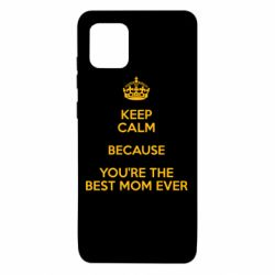 Чехол для Samsung Note 10 Lite KEEP CALM because you're the best mom ever