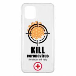 Чехол для Samsung Note 10 Lite Kill coronavirus the doctor will help