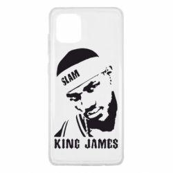 Чохол для Samsung Note 10 Lite King James