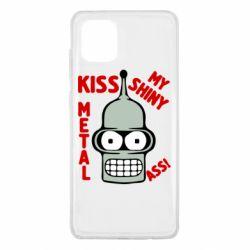 Чехол для Samsung Note 10 Lite Kiss metal