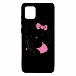 Чехол для Samsung Note 10 Lite Kitty амурчик