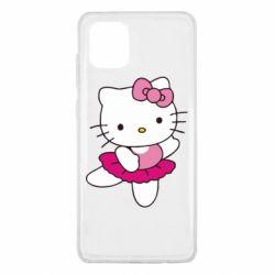 Чехол для Samsung Note 10 Lite Kitty балярина