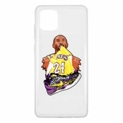Чехол для Samsung Note 10 Lite Kobe Bryant and sneakers