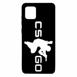 Чехол для Samsung Note 10 Lite Контр Страйк, логотип и игрок