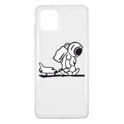 Чохол для Samsung Note 10 Lite Космонавт