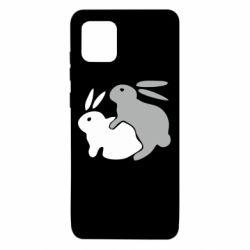 Чохол для Samsung Note 10 Lite Кролики