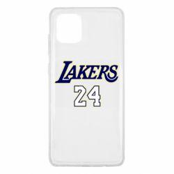 Чехол для Samsung Note 10 Lite Lakers 24
