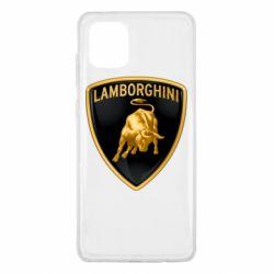 Чохол для Samsung Note 10 Lite Lamborghini Logo