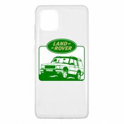 Чохол для Samsung Note 10 Lite Land Rover