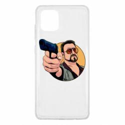 Чохол для Samsung Note 10 Lite Лебовськи з пістолетом