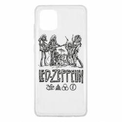 Чехол для Samsung Note 10 Lite Led-Zeppelin Art