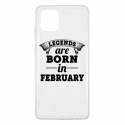 Чехол для Samsung Note 10 Lite Legends are born in February
