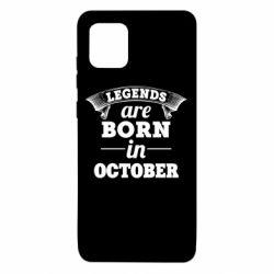 Чехол для Samsung Note 10 Lite Legends are born in October