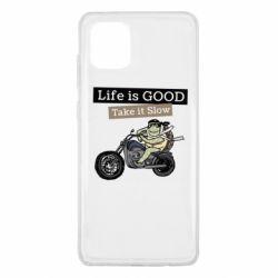 Чохол для Samsung Note 10 Lite Life is good, take it show